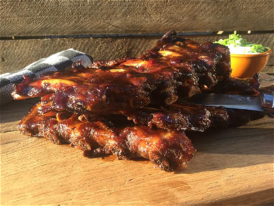 Foto Sweet Chili Garlic Spareribs